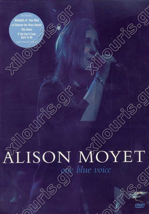 Alison Moyet  One Blue Voice - DVD - CD   DVD   Books - Xilouris.gr 7eb0d61c3a7